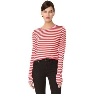 Rag & Bone arrow striped long sleeve T-shirt